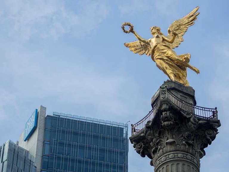 Paseo de La Reforma y El Ángel