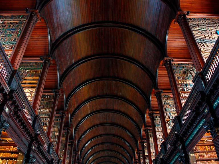 Viajar a través del tiempo en Trinity College