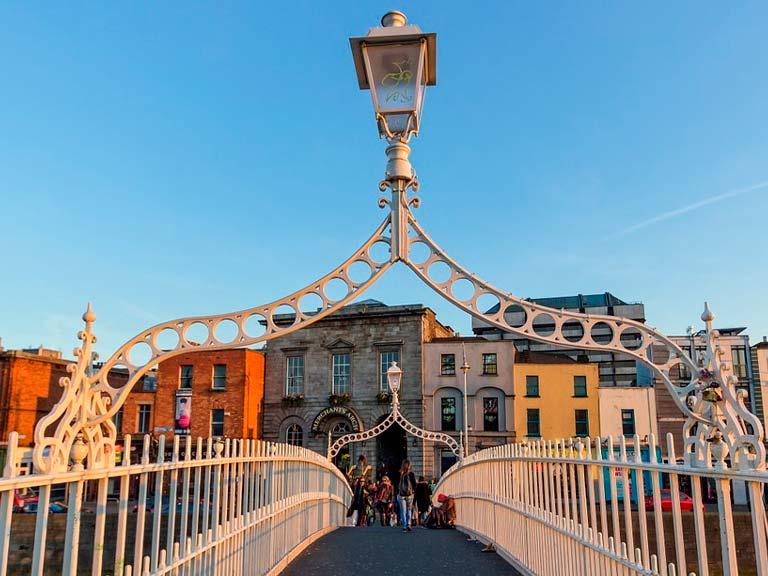 Dublin paseo a pie
