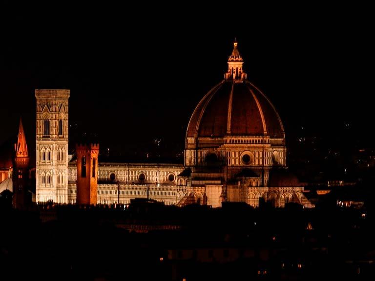 Piazza del Duomo, demasiado arte por metro cuadrado