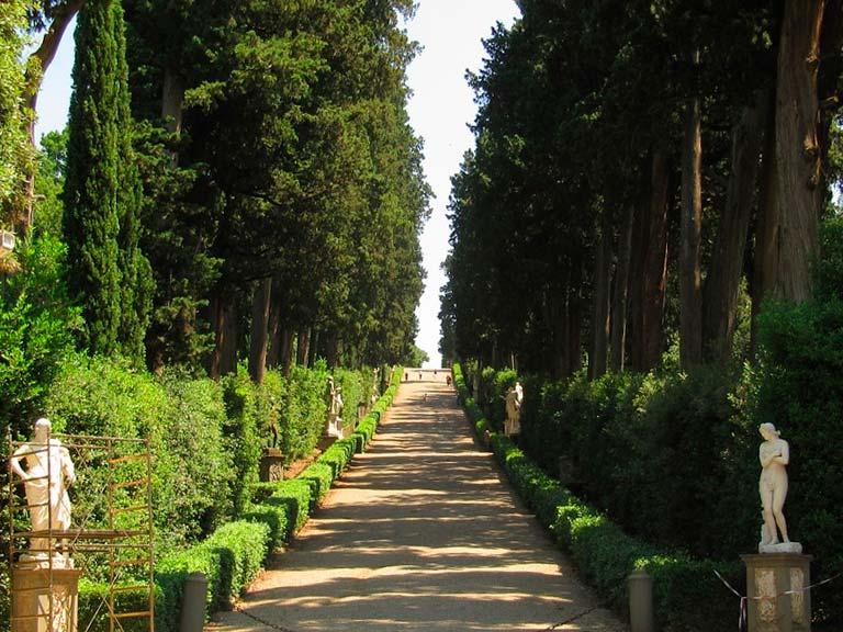 Tour por los jardines de Florencia