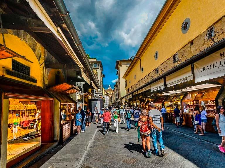 Palazzo Vecchio y Ponte Vecchio