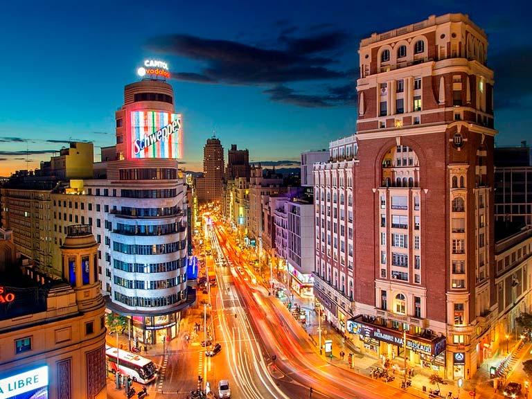 Visita guiada a Madrid: Recorridos nocturnos