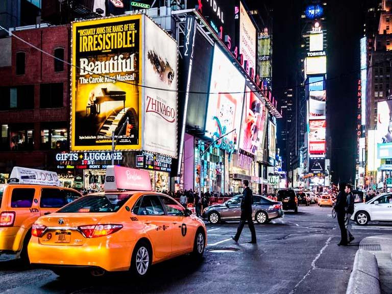 Reserva aquí el mejor tour nocturno por Nueva York
