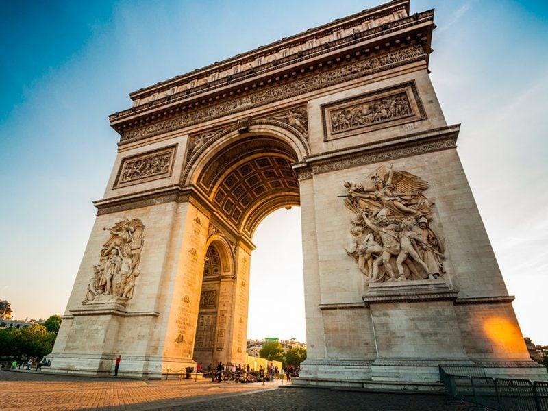 Champs Elysées / Arc of Triumph