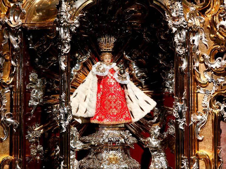 Ver al niño Jesús de Praga